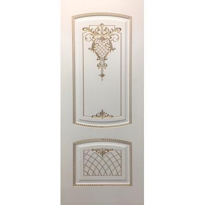 Межкомнатная дверь МАРТА ПГ эмаль с 3D фрезеровкой