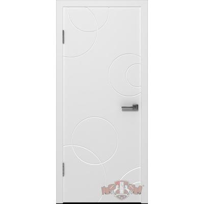 Межкомнатная дверь АВАНГАРД К2 ПГ эмаль